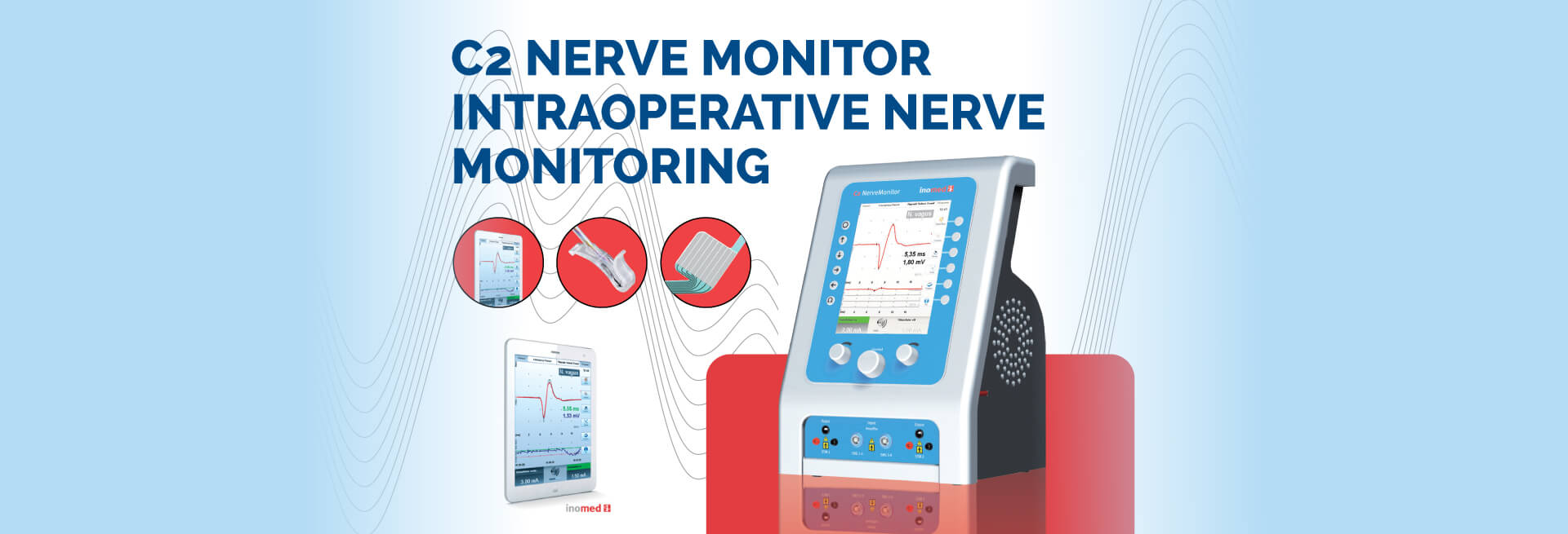 C2 Nerve Monitor Intraoperative Nerve Monitoring